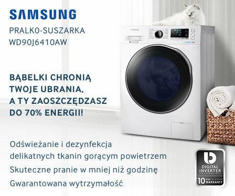 Pralka Samsung WW80J6410CW Eco Bubble