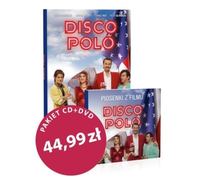 Disco-polo (booklet DVD) + CD Piosenki z filmu