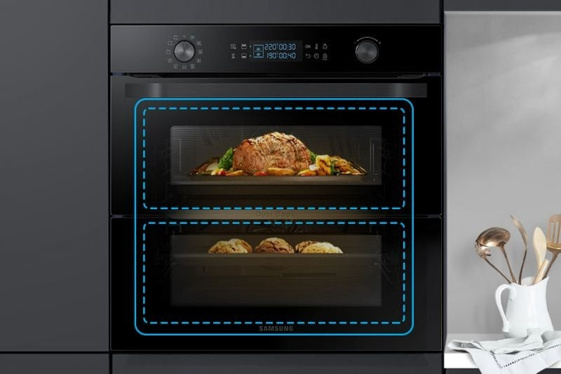 piekarnik samsung dual cook flex nv75n5641rb eo piekarniki. Black Bedroom Furniture Sets. Home Design Ideas