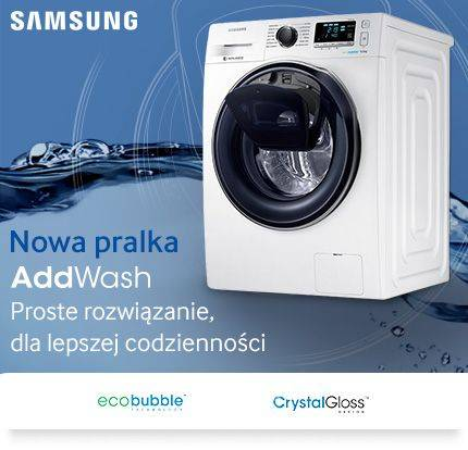 Pralka Samsung WW90K6414QW Eco Bubble