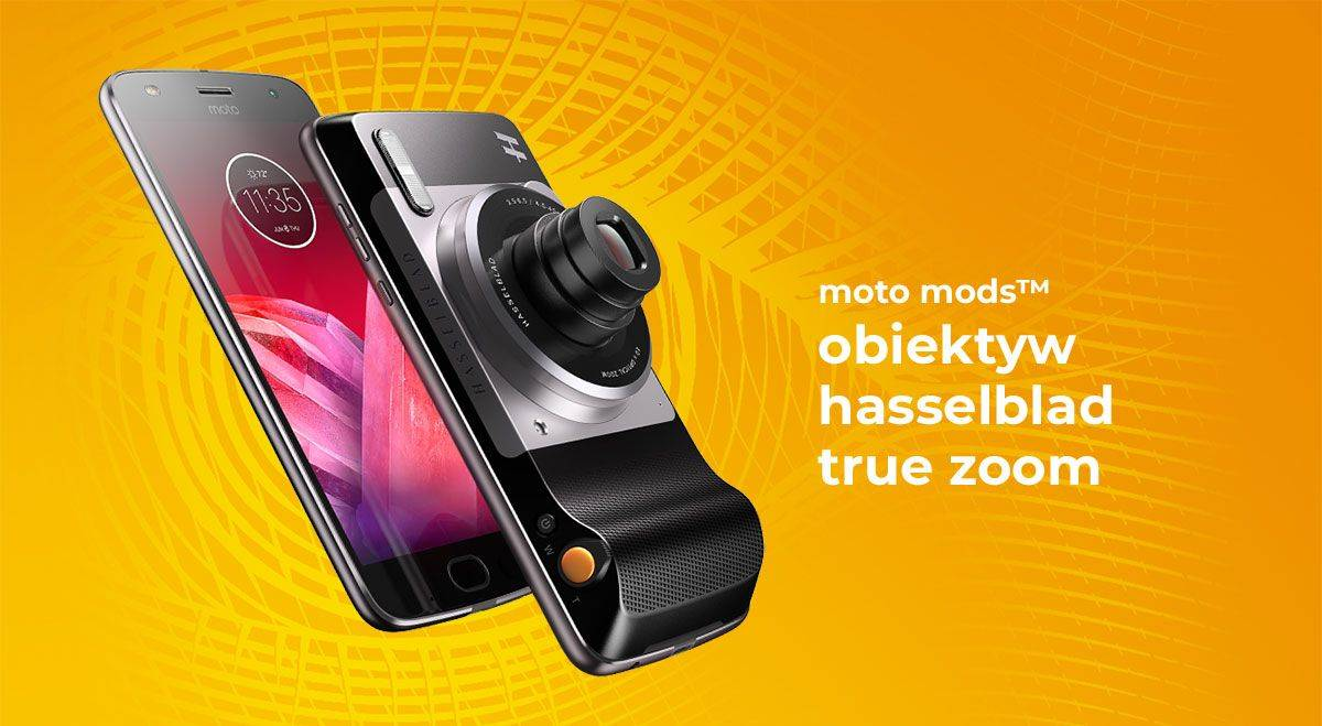 Moto mods Obiektyw HasselBlad True Zoom