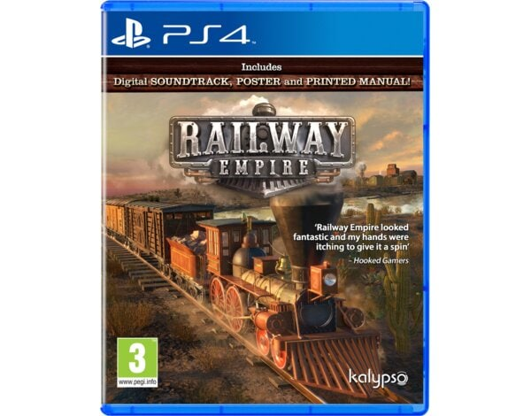 Gra PS4 Railway Empire