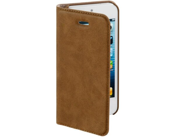 Etui na smartfon HAMA Guard Case Booklet do Apple iPhone 5/5S/SE Brązowy