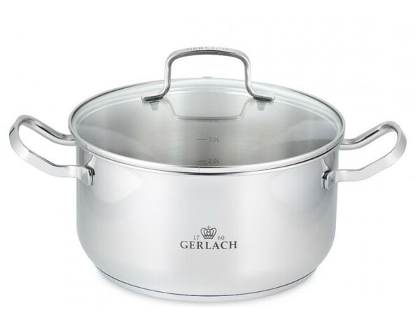 Garnek GERLACH SIMPLE 24 cm 4.5 l