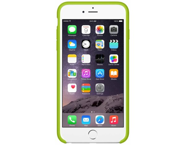 Pokrowiec APPLE iPhone 6 Plus Silicone Case Zielony