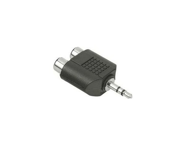 Adapter HAMA Jack 3.5 mm - 2xRCA