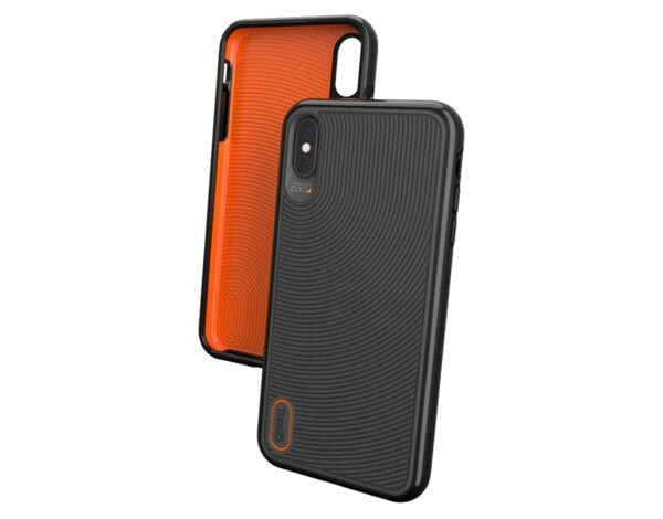 Etui na smartfon GEAR4 Battersea do Apple iPhone XS Max Czarny 32955