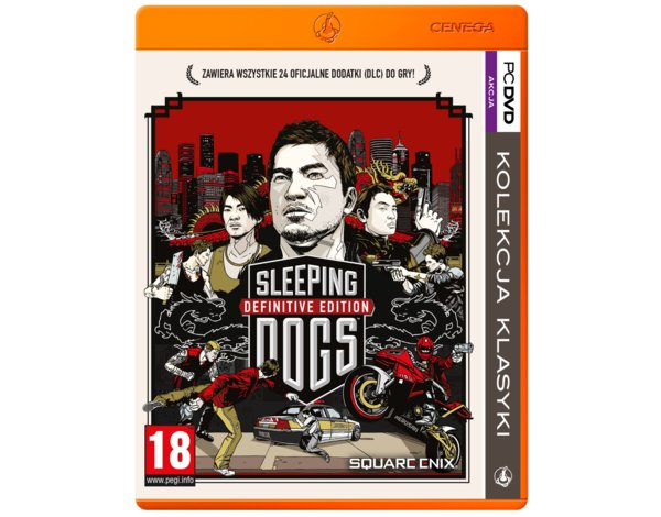 Gra PC PKK Sleeping Dogs: Definitive Edition