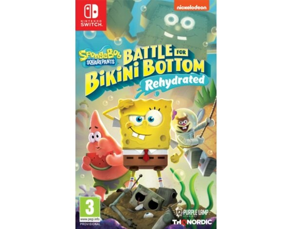 Gra Nintendo Switch Spongebob SquarePants: Battle for Bikini Bottom – Rehydrated