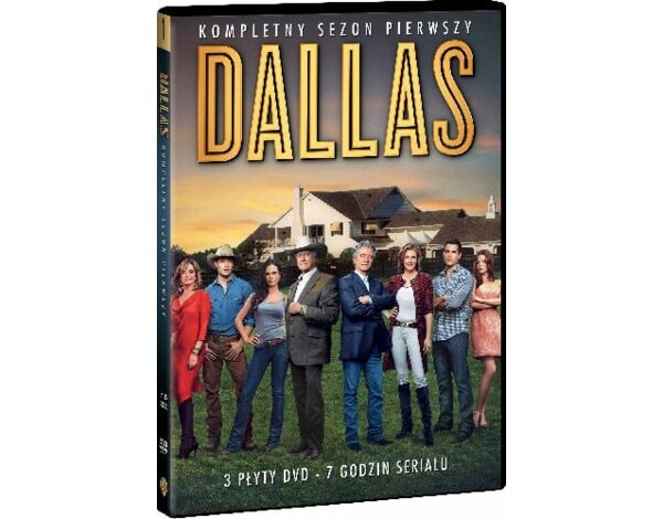 Dallas, Sezon 1 (3 DVD)