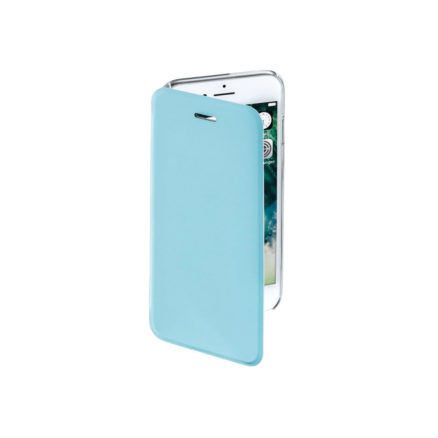 Etui HAMA Booklet Clear do Apple iPhone 7 Niebieski