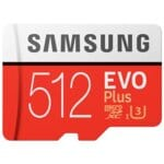 Karta pamięci SAMSUNG MB-MC512GA/EU microSDXC EVO Plus 512GB + adapter SD