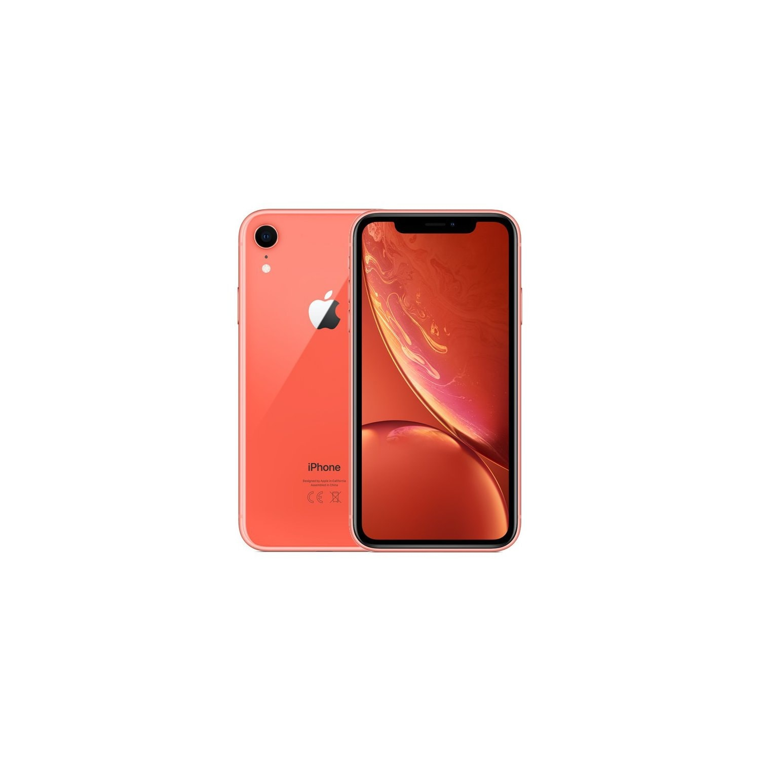 Smartfon APPLE iPhone XR 64GB Koralowy MRY82PM/A