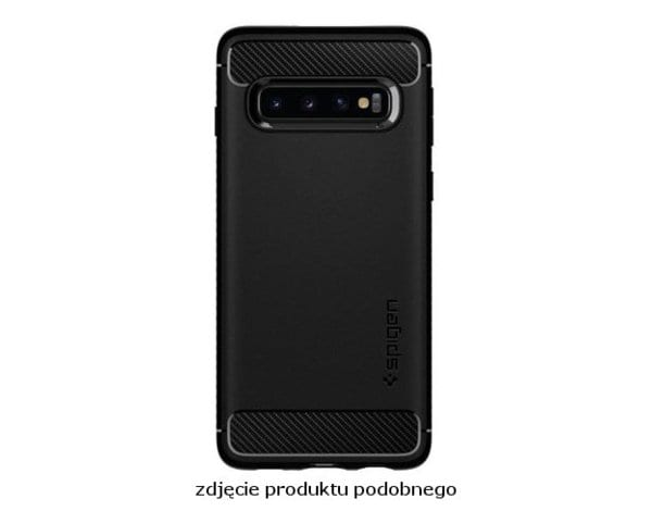 Etui SPIGEN Rugged Armor do Samsung Galaxy S20+ Czarny