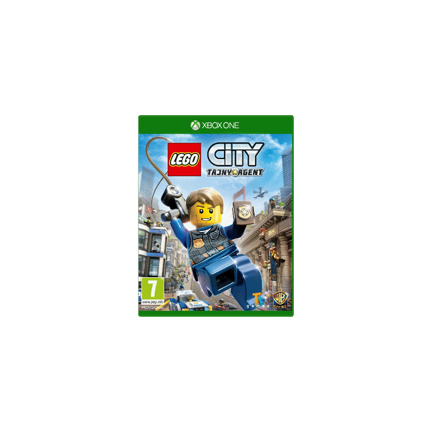 Gra Xbox One LEGO City: Tajny agent