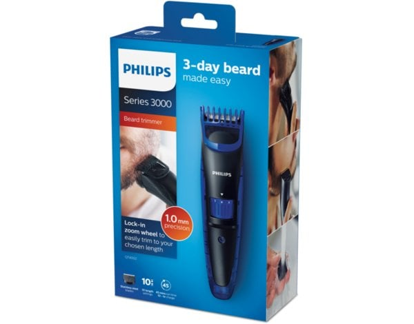 Trymer PHILIPS Beardtrimmer Series 3000 QT4002/15