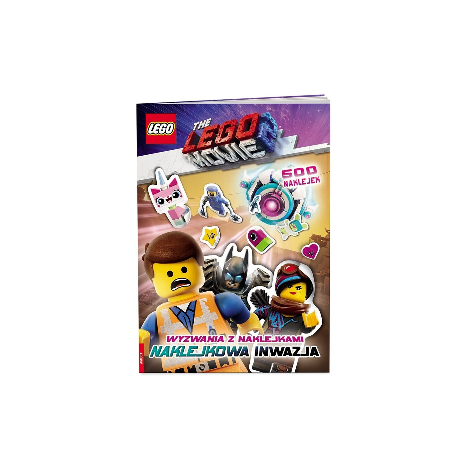 The Lego Movie 2. Wyzwania z naklejkami: Naklejkowa Inwazja