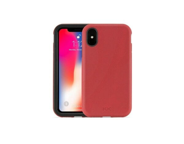 Etui OWC NewerTech NuGuard KX do Apple iPhone X Czerwony