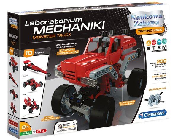 Zestaw CLEMENTONI Laboratorium mechaniki Monster Truck (50062)
