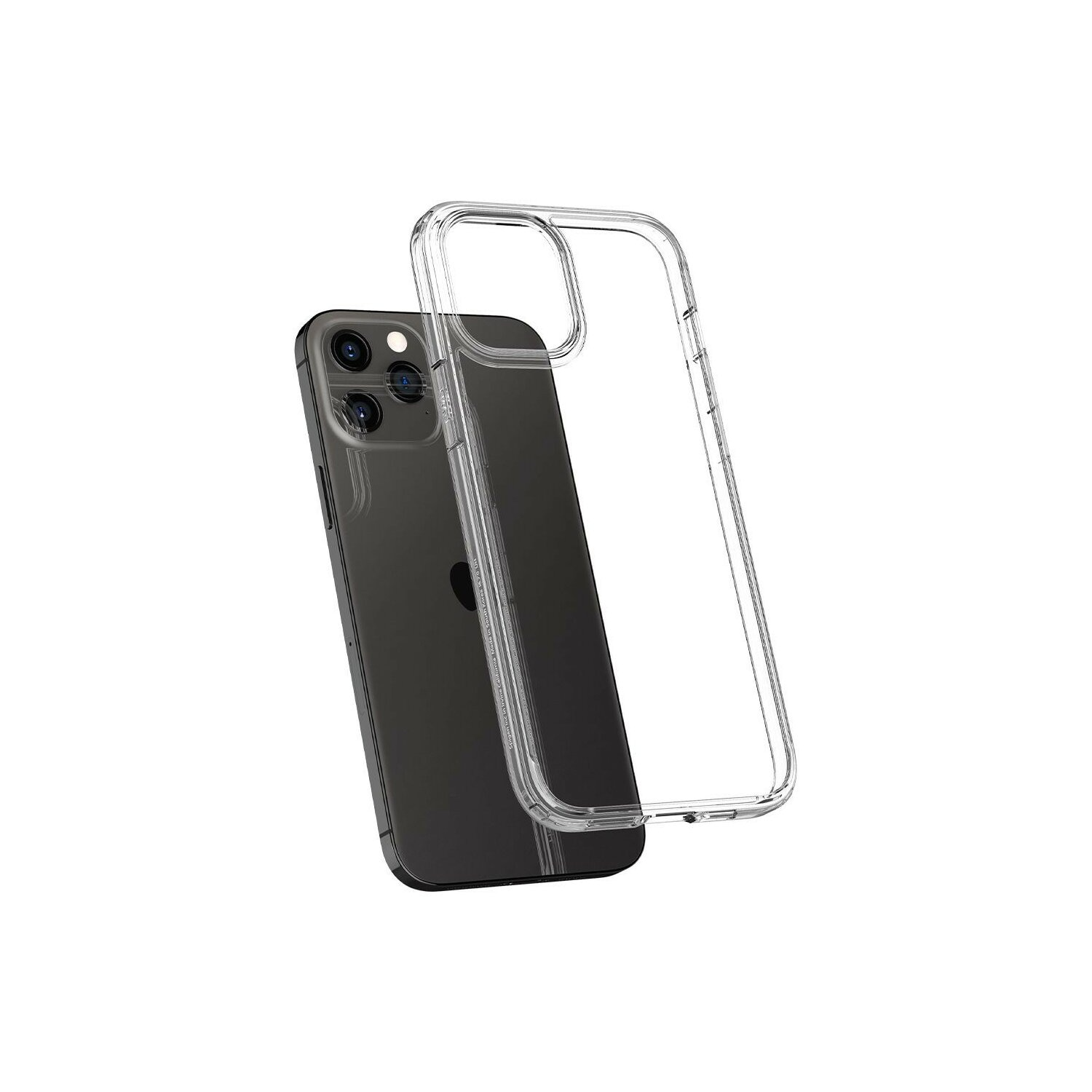 Etui SPIGEN Ultra Hybrid do Apple iPhone 12/ iPhone 12 Pro Bezbarwny