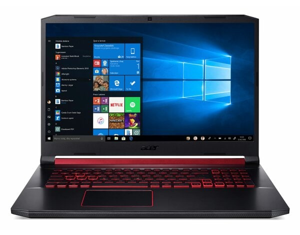 Laptop ACER Nitro 5 AN517-51-54WS NH.Q5CEP.002 i5-9300H/8GB/512GB SSD/GTX1650/Win10H