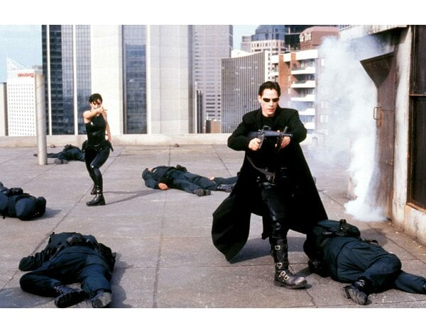 Matrix (DVD) Iconic Moments