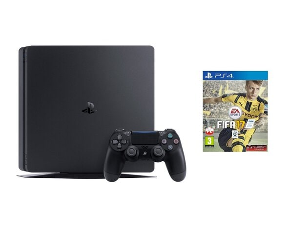 Konsola SONY PlayStation 4 Slim 500GB D Chassis + FIFA 17