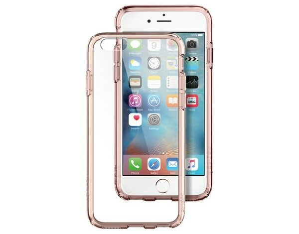Etui SPIGEN Ultra Hybrid do iPhone 6/6s Różowy