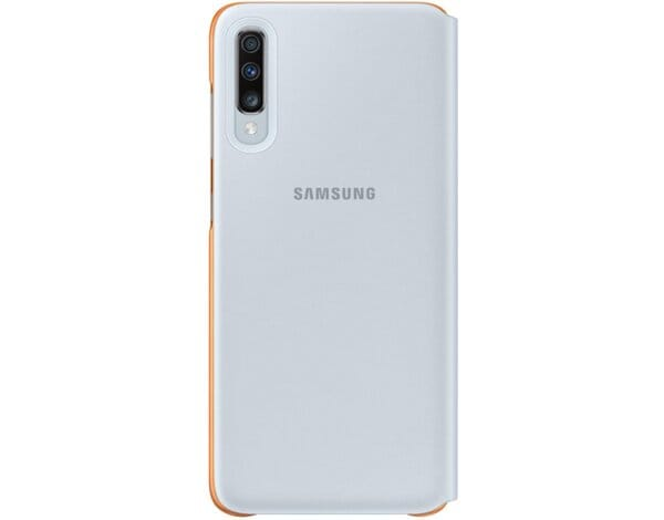 Etui SAMSUNG Wallet Cover do Galaxy A70 Biały EF-WA705PWEGWW