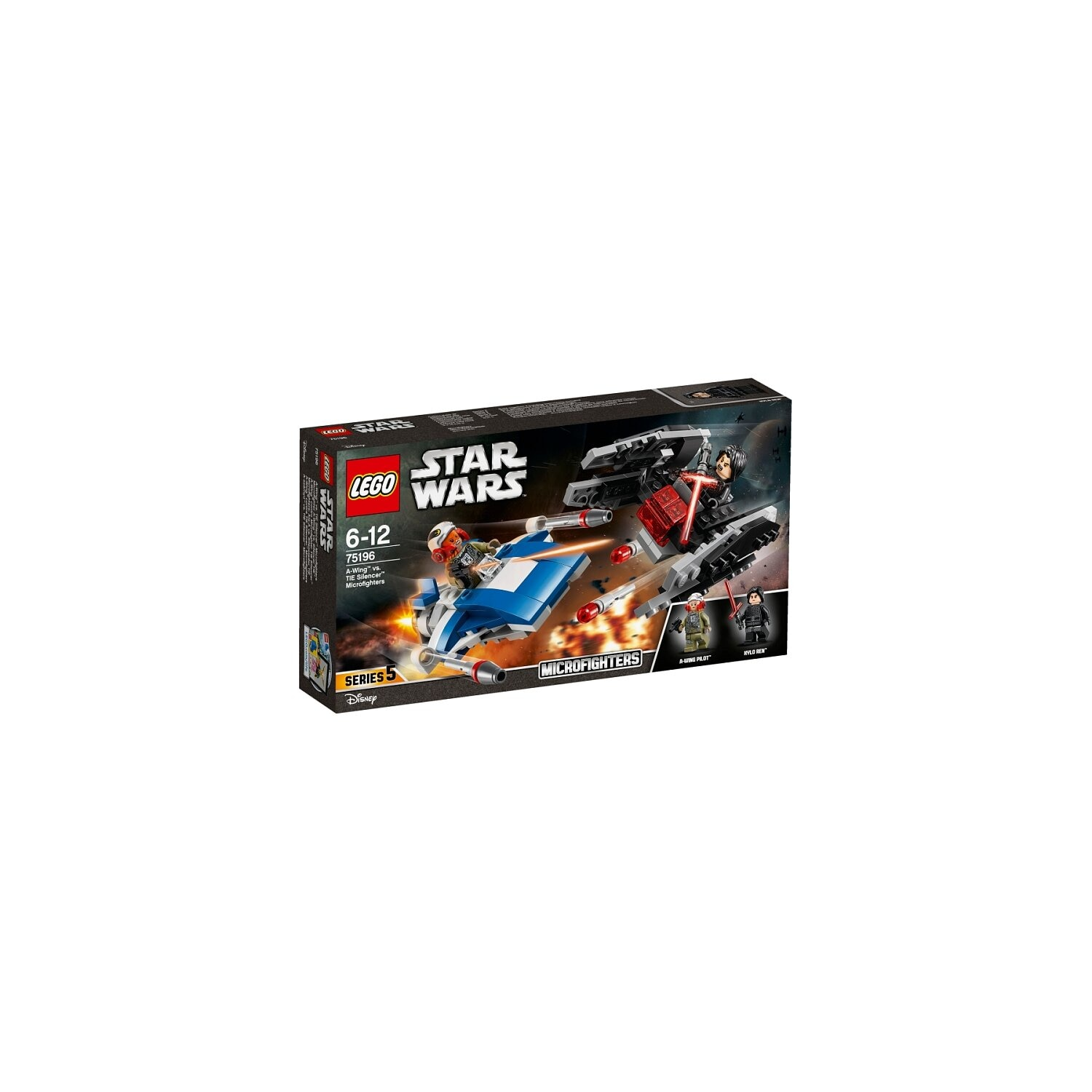 Lego Star Wars. 75196 A-Wing kontra TIE Silencer