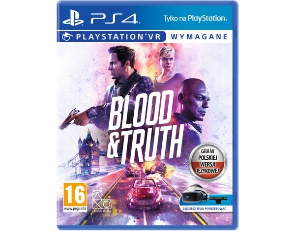 Gra PS4 VR Blood & Truth