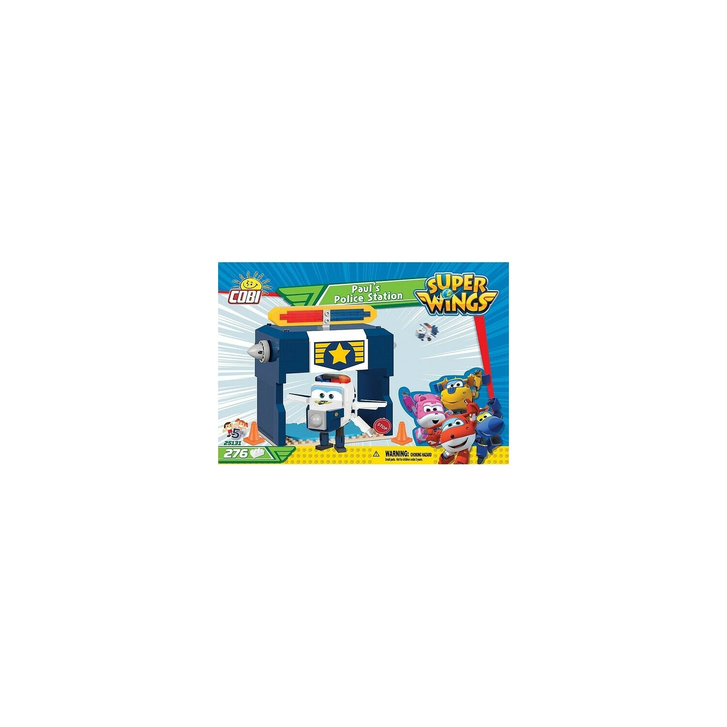 Klocki COBI Super Wings - Pauls Police Station (25131)